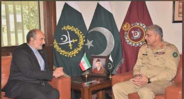 Army Chief Farewell meeting to Iranian Ambassador