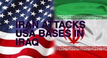 1. Iran retaliates by firing more than dozen missiles at Two American bases