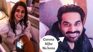 Hamayun Saeed and Hira Mani making Fun of Corona Virus