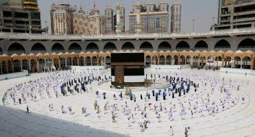 Pilgrims begins down-sized Hajj Today following Covid-19 hygiene protocols