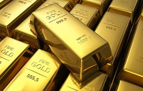 Significant decline in the price of gold.