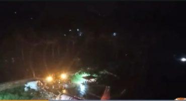Passenger plane crashed in India