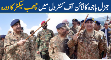 General Qamar Javed Bajwa visited LOC
