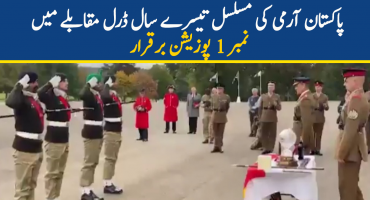 Pakistan Army won another international military competition