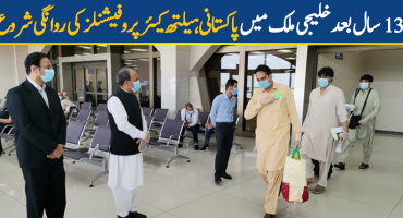 Pakistani healthcare professionals departed for gulf countries after 13 years