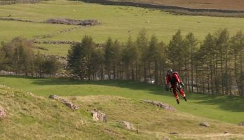 Jet suit service tested to provide immediate medical assistance in mountainous areas
