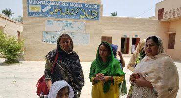 Mukhtara Mai's school closed in Muzaffargarh.