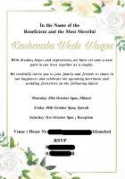 Former MNA Kashmala Tariq got married.