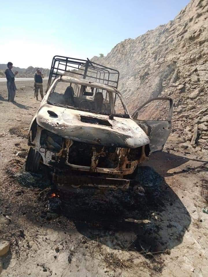 5 soldiers and 1 officer embraced Martydom in terrorist IED blast