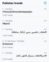 Momina Mustehasan and Bilal Saeed's 'Baari 2'  trending right after release.
