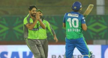 Haris Rauf gesture wins heart after getting out Shahid Afridi