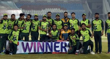 Pakistan clean sweeped Zimbabwe in T20 series