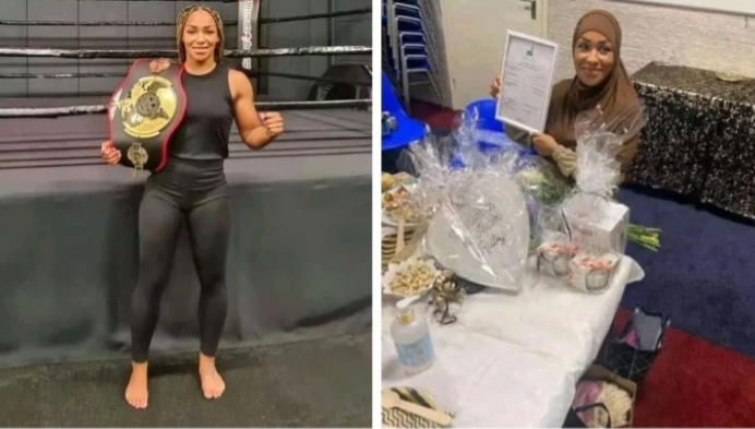 Christian boxing champion Ruby Jesiah Mesu has converted to Islam.