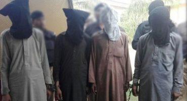 Four big terrorists arrested in Karachi