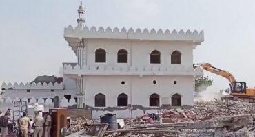 "Indian authorities bulldoze ""ancient"" mosque in Haryana, Pakistan issues condemnation"