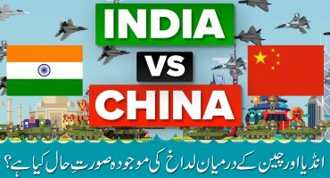 What is the Current situation in Ladakh between India and China