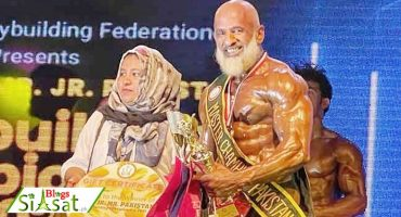 60-year-old bodybuilder sets his eyes on the 'Mr. Asia' title after winning 'Mr. Pakistan'