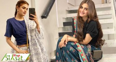T-Shirt and A Saree - Hira Mani is setting new fashion trends [VIDEOS]