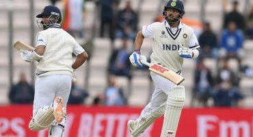 World Test Championship Final: Kohli, Rahane stabilise India against NZ