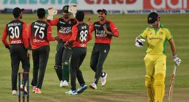Nasum leads Bangladesh to victory in first Australia T20I